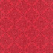 Moda North Woods by Kate Spain - 4811 - Christmas Crystal, Red Scandinavian Style Geometric - 27246 11 - Cotton Fabric
